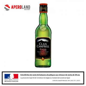 Whisky CLAN CAMPBELL 35cl