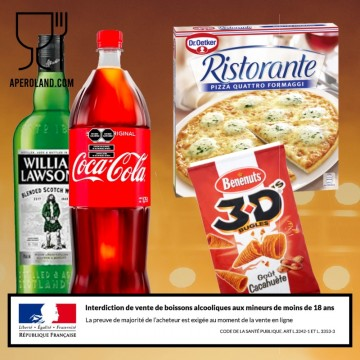 Pack APERO WHISKY 2 personnes