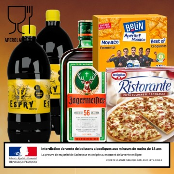 Pack JAGER 2 personnes