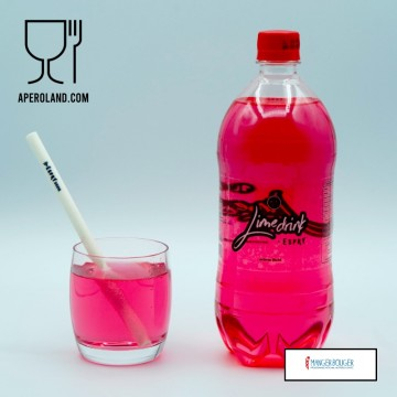 """Lime Drink """"édition Red Kiss"""" LITCHI"""